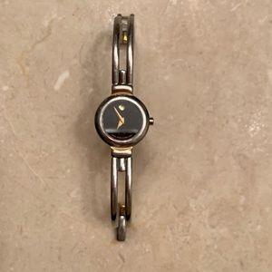 Two tone Ladies Movado Watch